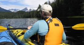 Alaska Kayak Guide Photo Button