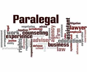 Paralegal Work Map Graphic