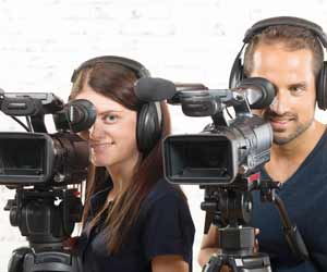 Television Camera People Photo
