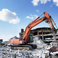 Demolition Jobs can be Dangerous but also Exhilarating