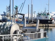 Alaska Gillnet Commerical Fishing Boat Photo