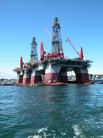 Oil Drilling Platform Photo