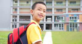 Taiwanese ESL Student Poses for Photo