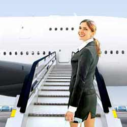 Flight Attendents Spend a lot of Time in the Air