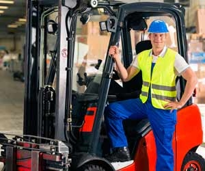 Forklift Drivers Operate...Well...Forklifts
