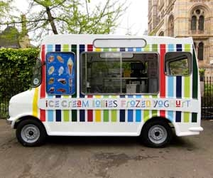 Ice Cream Truck Drivers Bring Frozen Treats To Neighborhoods all Around Town